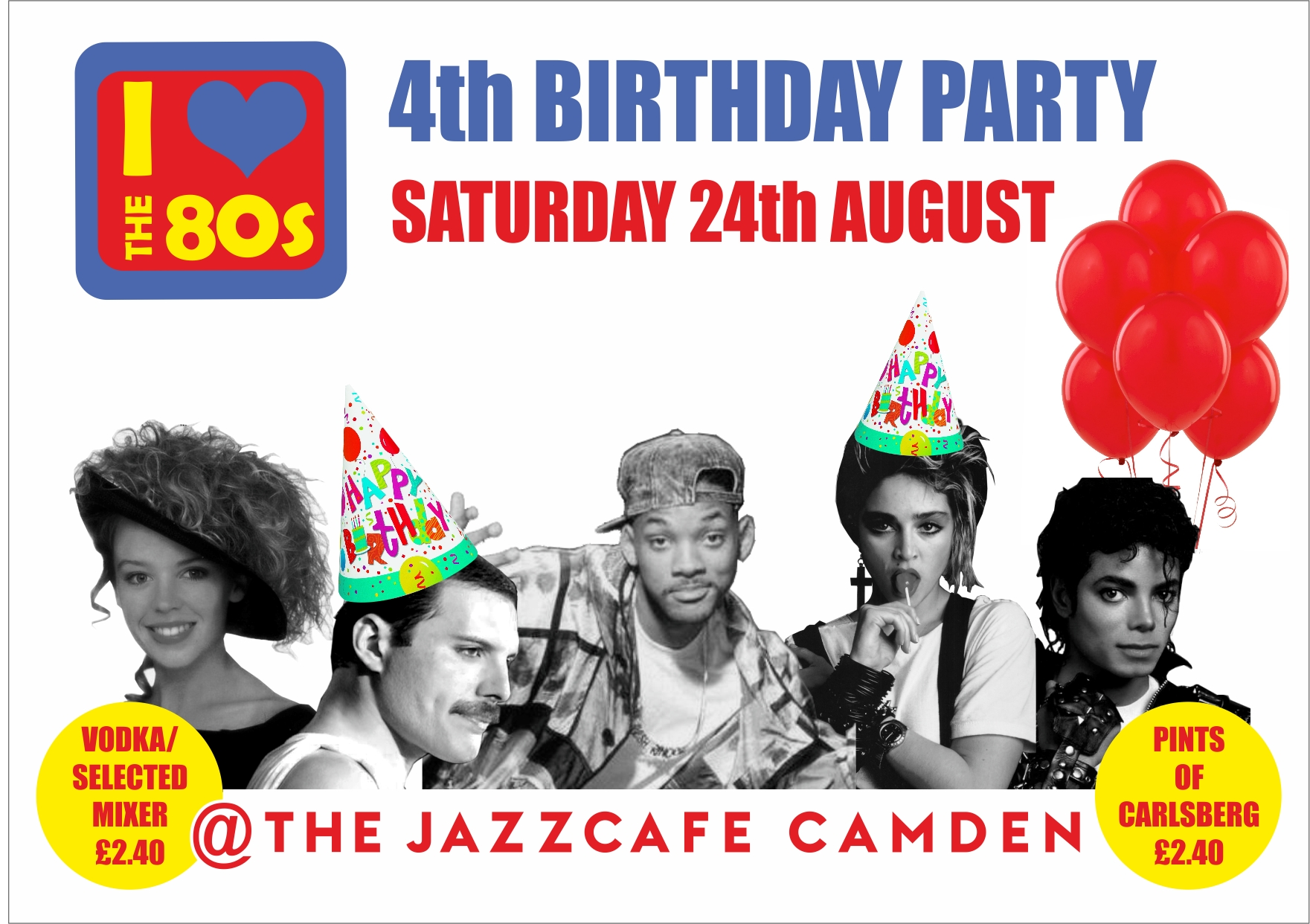 i love the s parties in london page  and if you love your 90s we have our regular bank holiday party at barfly camden on sunday 25th no work on monday woooop