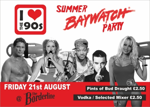 Ilovethe90s_BaywatchParty_flyer_front