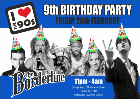 Ilovethe90s_BORDERLINE_9thBIRTHDAY_flyer_front