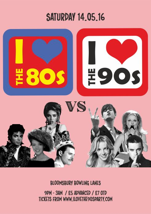 80vs90s_bloomsbury lanes_A3 POSTER_140516