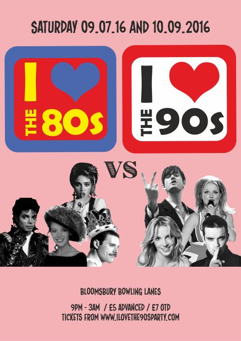 80vs90s_bloomsbury lanes_A3 POSTER_JULY AND SEP