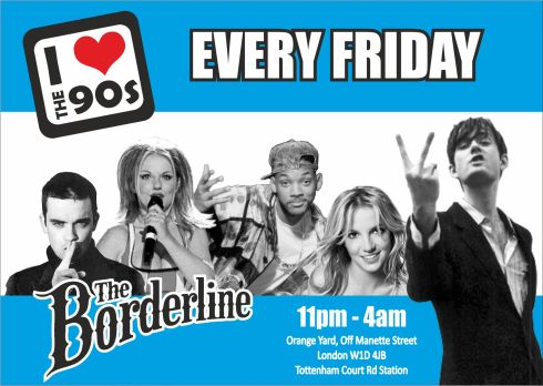 Ilovethe90s_BORDERLINE_blue flyer_front